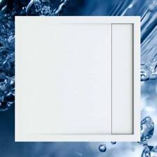 Duschbecken 800x800 mm mit integrierter Duschrinne / Duschwanne 80x80 cm mit ein