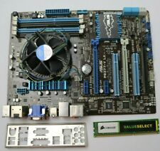 Asus P8Z77-V LK LGA 1155 Intel Motherboard W/ Core i3 2120, 4gb DDR3, i/o shield