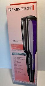 "Remington S5520 Hair Straightener Purple 1"" Anti-Static Flat Iron"