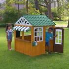 Playhouse Backyard Wooden Kids Outdoor Yard Fun Play House Children Garden Toys