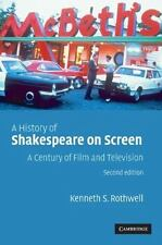 A History of Shakespeare on Screen: A Century of Film and Television (Paperback