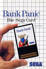 ## SEGA Master System Card - Bank Panic (dt. Cover) ##
