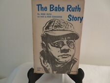 The Babe Ruth Story  1963  PB  Scholastic Book Services