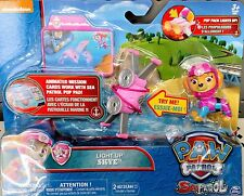 🐾🐕NEW Paw Patrol SKYE Light Up Pup Pack Sea Patrol  RARE FAST SHIP🐾🐕