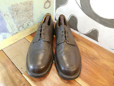 Sandro Moscoloni Brown Leather Oxfords Men's 11D #3060 Made in Brazil