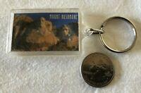 Mount Rushmore South Dakota National Memorial Keychain Key Ring #35495