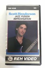Scott Henderson Jazz Fusion Improvisation VHS 1988
