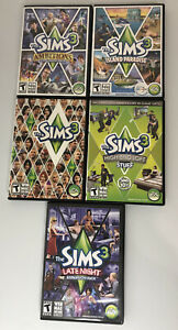 The Sims 3 PC Game Lot Includes Sims 4 Expansions