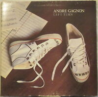 ANDRE GAGNON Left Turn LP Canadian Jazz-Funk – Promo Copy