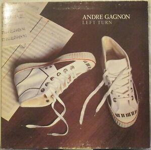 ANDRE GAGNON Left Turn LP Canadian Jazz-Funk – Promo Copy