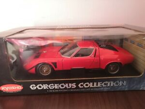 Lamborghini Miura Jota SVR 1:18 Kyosho **TOP in OVP**Mint in Box MIB**