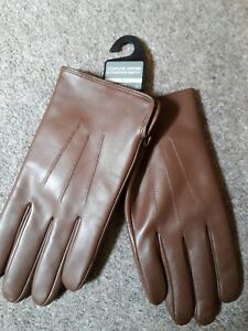 Mens leather gloves small
