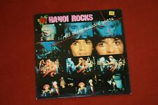 HANOI ROCKS - ALL THOSE WASTED YEARS (VINYLE 33T)