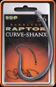Esp Raptor Curve-shank Barbless Size 9