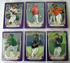 2014 Bowman Purple Parallel Rookie Card Retail Packs! 15 Sealed Packs! 45 Cards!
