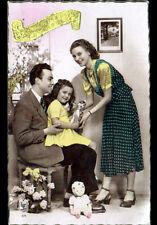 JOUET & ENFANT / PELUCHE & POUPEE d'ANNIVERSAIRE vers 1950