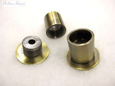 2 Curtain pole recess brackets for 19mm diameter rods Wardrobe rail support ends