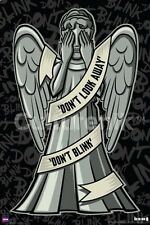 Doctor Who Weeping Angels Art Rendition 24 x 36 Poster, NEW ROLLED #5602