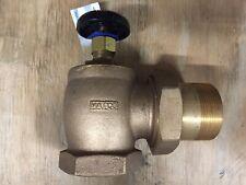 2IN Steam Radiator Angle Valve Bronze Matco-Norca BARV-2000