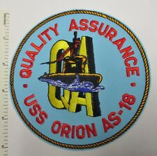 USS ORION AS 18 Hitch Cover Military USN U S Navy