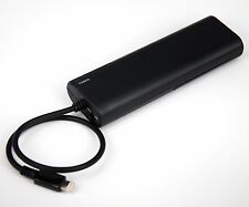5V 1A AA Battery Portable Backup Charger BLACK for iPhone X 8 7 6s 6 Plus SE 5s