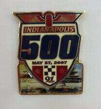 2007 91st Indianapolis 500 Event Photo Collector Lapel Pin IMS Dario Franchitti