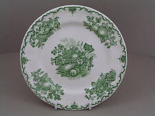 "MASONS GREEN FRUIT BASKET 6 3/4"" SIDE PLATE, (NO CRAZING)."