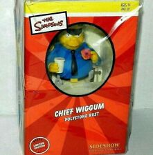 SIDESHOW CHIEF WIGGUM THE SIMPSONS MINI BUST GEM NEW SEALED LOW SERIAL #010 NEW