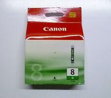 Canon cli-8g cli8g 8 g Green verde PIXMA pro 9000 mark 2 II sellados nuevo