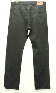 "Amazing Gant 'JASON"" black Cotton twill Denim Jeans Trousers W34 L34"