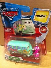 DISNEY CARS DIECAST - Fillmore With Organic Gas Cans & Changing Eyes - Chase*