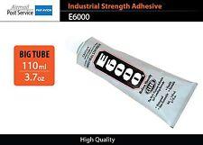 E6000 Clear Tube 3.7 oz 110 ml Industrial Strength Adhesive Glue nails jewelery