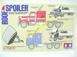 Tamiya 1/14 ROOF SPOILER Set  R/C Tractor Truck re MAN Scania Grand Hauler 56504