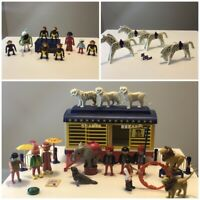 Playmobil Circus HUGE LOT Lions Horse Seal Snake elephant people