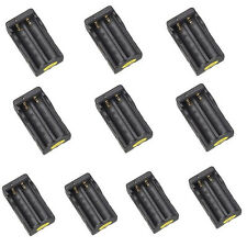 10pcs AC 18650 Dual Rechargeable Battery Charger Li-ion Travel Charger US Plug