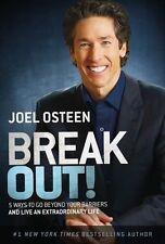 Break Out! Joel Osteen Paperback - Brand New