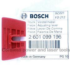 Bosch GSR18VE-2 Li Forage REVERSE Avant Interrupteur à glissière Levier partie 2 601 099 196