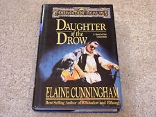 Elaine Cunningham Forgotten Realms Daughter of the Drow hardcover novel