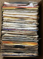 Lot Of 125+ 45 Rpm Singles Pop R&B Rock Country 60s-70s-80s Records Some Promos