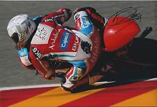 Danny WEBB SIGNED Mahindra RACING MOTO3 MOTO2 12x8 Photo AFTAL Autograph COA