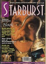 Starburst No.164 1992 MARC SINGER V,BEASTMASTER,  HOOK