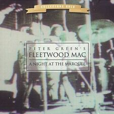 PETER GREEN'S FLEETWOOD MAC - A Night At The Marquee CD Gold Disc Out of Print