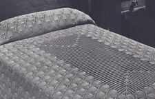 Vintage Crochet PATTERN to make Pineapple Bedspread Tablecloth Runner Scarf PinB