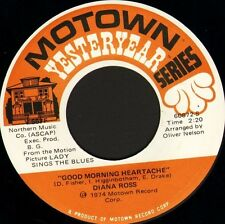 """DIANA ROSS good morning heartache/touch me in the morning Y 557F usa 7"""" WS EX/"""