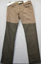 BCBG Generations The Jasper Women 2-Tone Brown Skinny Jeans Pants NWT  25  30x30