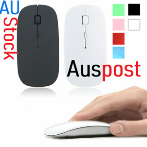 AU USB 1600DPI AAA Wireless Optical Basic Mouse Support Button New 4 Laptop / PC