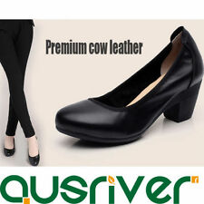 Unbranded Leather Pump, Classic Heels for Women