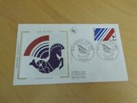 france first day stamp cover 1983 air france 1933-1983