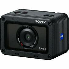 Sony Cyber-shot RX0 II Digital Camera - Shooting Grip Kit 4K Zeiss Lens RX0 MK 2
