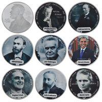 WR Pièce commémorative de 8 pièces en argent Prix Nobel Prix Nobel
